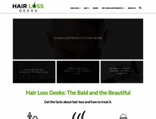 hairlossgeeks.com screenshot