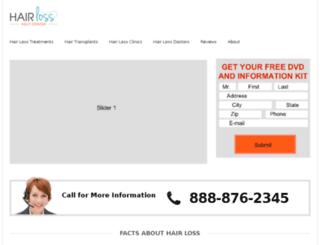 hairlosshelpcenter.org screenshot