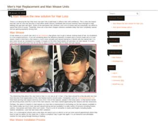 hairlossrecoveryprogram.com screenshot