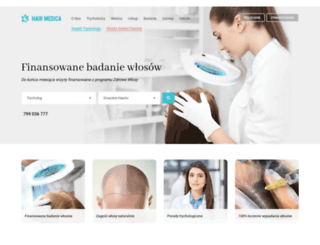 hairmedica.pl screenshot