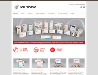 hairpharma.com.tr screenshot