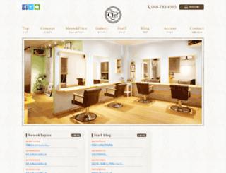 hairsalon-clef.com screenshot