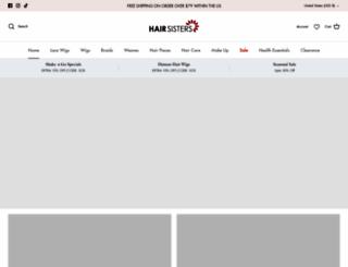 hairsisters.com screenshot