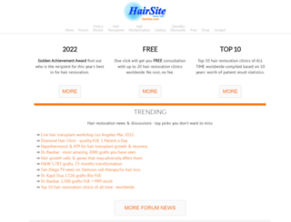 hairsite.com screenshot