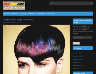 hairstylelists.com screenshot