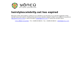 hairstylescelebrity.net screenshot