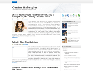 hairstylescenter.blogspot.com screenshot
