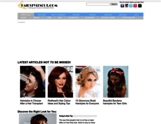 hairstylescut.com screenshot