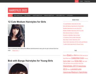 hairstylesforhaircuts.com screenshot
