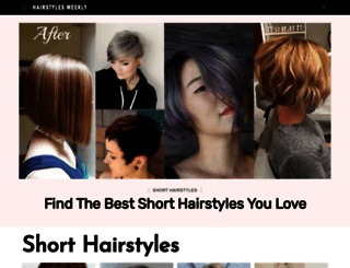 hairstylesweekly.com screenshot