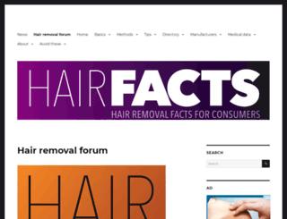 hairtell.com screenshot