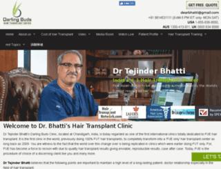 hairtransplant-india.org screenshot