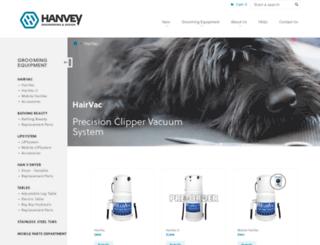 hairvac.com screenshot