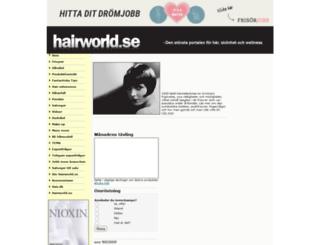 hairworld.se screenshot