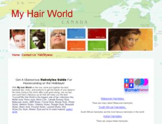 hairworld.synthasite.com screenshot