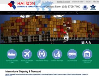 haison.com.au screenshot