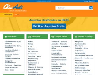 haiti.clicads.com screenshot