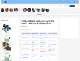 haitianradiostations.com screenshot