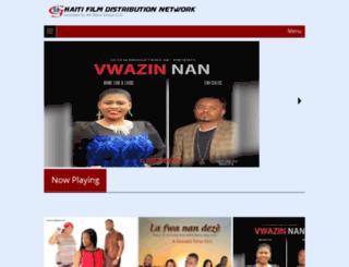 haitifilmdistributionnetwork.com screenshot