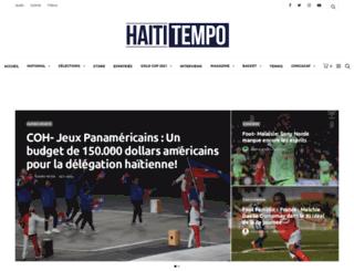 haititempo.com screenshot