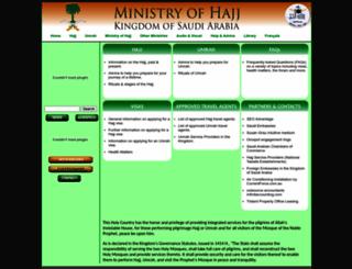 hajinformation.com screenshot