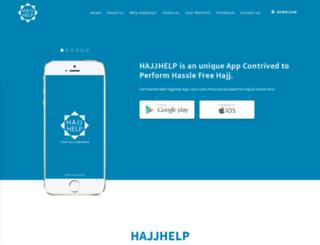 hajjhelp.net screenshot