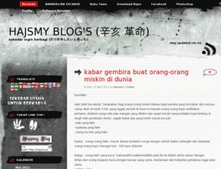 hajsmy.wordpress.com screenshot