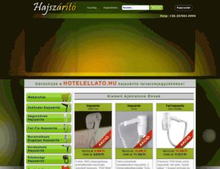 hajszarito.com screenshot