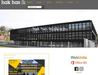 hak-feldkirch.at screenshot