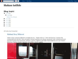 hakanpekmen.com screenshot