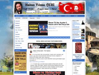 hakanyilmazcebi.com screenshot