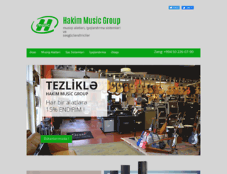 hakimmusicgroup.com screenshot
