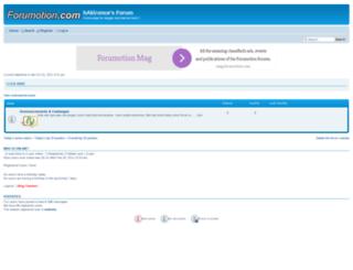 hakironceforum.aforumfree.com screenshot