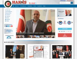 hakis.org.tr screenshot