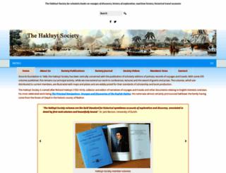 hakluyt.com screenshot