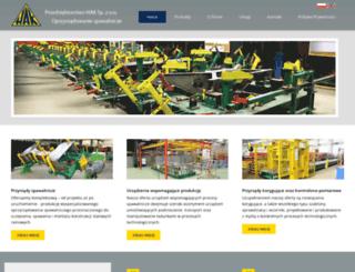 hakspawanie.com.pl screenshot