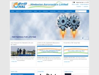 hal-india.com screenshot