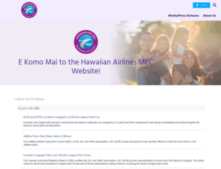 hal.alpa.org screenshot