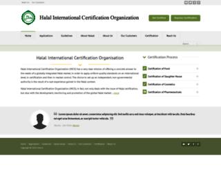 halalcerti.com screenshot