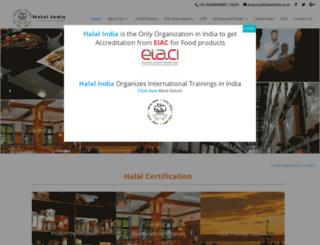 halalindia.org screenshot