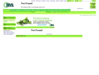 halalstock.com screenshot