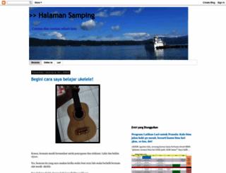 halamansamping.blogspot.com screenshot