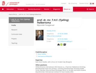 halbertsma.com screenshot