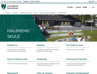 halbrend.no screenshot