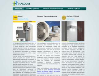 halcom-dz.com screenshot