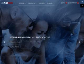 halcom.rs screenshot