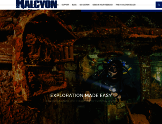 halcyon.net screenshot