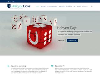 halcyondays.ie screenshot
