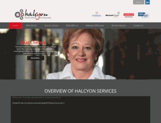 halcyonit.com screenshot
