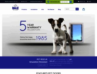 halepetdoor.com screenshot